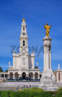 Fatima, Basilica Antiga in Portugal - Sanctuary of Fatima in Portugal, Basilica Antiga