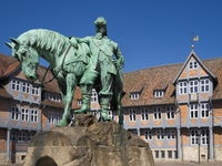 Wolfenbüttel - Monument of Duke Augustus on the Stadtmarkt, Germany