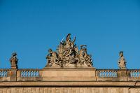 Mars, the god of war - sculpture, Zeughaus, Berlin