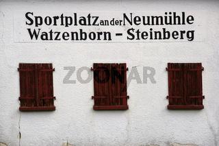 Sportplatz an der Neumühle Watzenborn