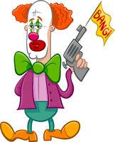 circus clown cartoon