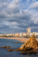 Lloret de Mar Town in Spain