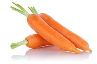 Karotten Möhren Karotte Möhre frisch Gemüse Freisteller freigestellt isoliert