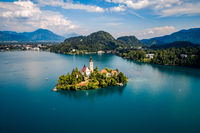Slovenia - resort Lake Bled.