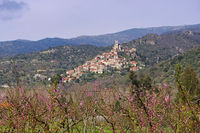 Eus - old village Eus in southern France