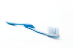 Toothbrush on a bright surface