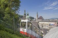 Fortress railway in Salzburg