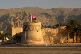Mittelalterliche Festung von Khasab, Oman