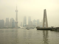 Shanghai Skyline, Huangpu River, China