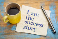 I am the success story positive affirmation