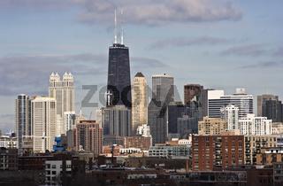 Chicago - John Hancock Building area