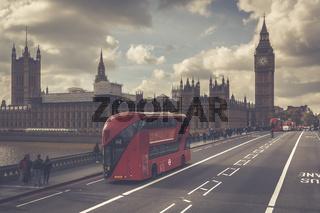 Big Ben - Sehenswürdigkeit in London, England, Großbritannien