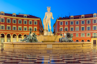 Place Massena square Nice, French Riviera