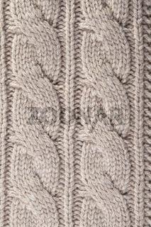 Woolen knitting background