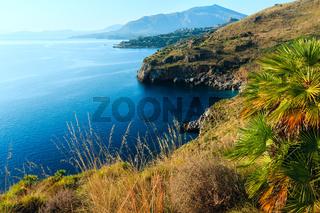 Zingaro sea coast, Sicily, Italy