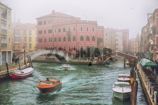 Foggy day in Venice