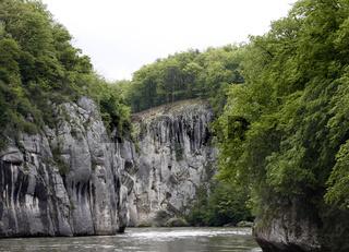 Donaudurchbruch Kelheim Weltenburg, Bayern, Deutschland, Europa