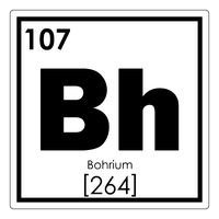 Bohrium chemical element
