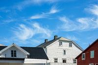Häuser auf den Lofoten in Norwegen