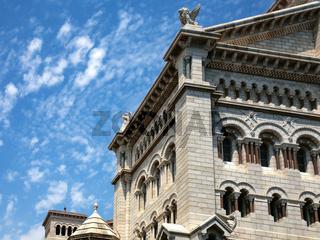 building of Saint Nicholas Cathedral in Monaco