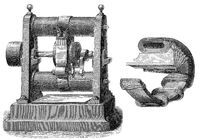 The Gramme machine, by Zénobe Théophile Gramme