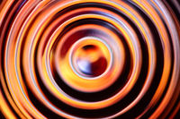 Black - orange abstract background
