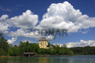Am Fuschlsee, Salzkammergut, Österreich