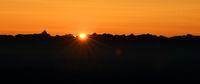 sunrise, alps, mountains,