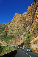 on Chapman's Peak Drive, South Africa