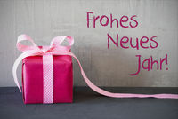 Pink Present, Frohes Neues Jahr Means Happy New Year