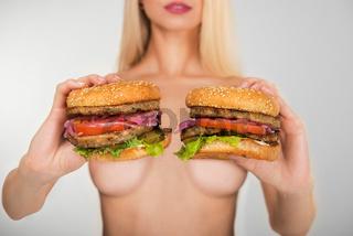Twa tasty burgers