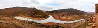 two mountain rivers Aragvi and Kura