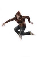 Junge springt wd708