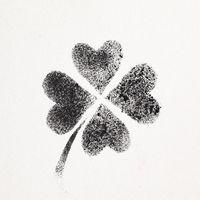Four-leaf Irish clover