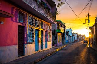 CAMAGUEY, CUBA - Street view of city centre
