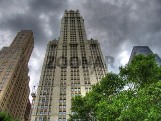 Woolworth building, Manhattan, New York