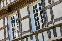 exterior facade of a typical brittany house
