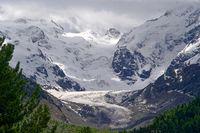 morteratsch glacier in 2009