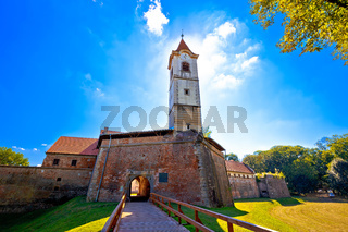Cakovec old town in green nature view