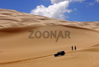 Im Ubari Sandmeer, Sahara