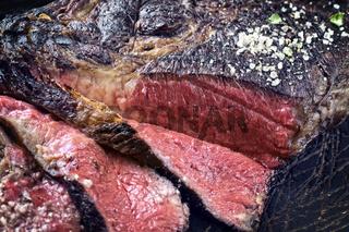 Barbecue Kobe Tomahawk Steak