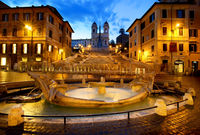 Spanish Steps at early morning