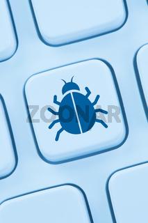 Computer Virus Trojaner Sicherheit im Internet surfen online