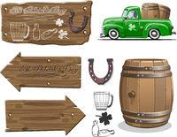 Vector elements set for Beer festival designs