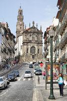 Rua dos Clerigos in Porto