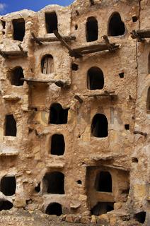 Vorratsräume, Speicherburg Qasr al-Haj, Libyen
