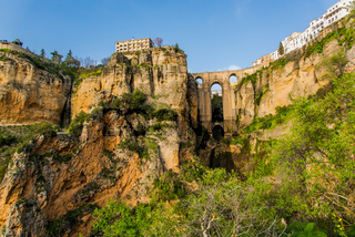 Puente Nuevo New Bridge in Ronda, Spain