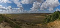 The opencast mine Garzweiler I after recultivation