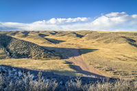 windy afternoon at Soapstone Prairie Natural Area i