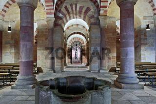 Krypta im Dom zu Speyer, Rheinland-Pfalz, Germany
